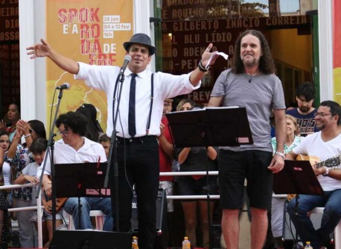 Roda de Frevo com Maestro Spok